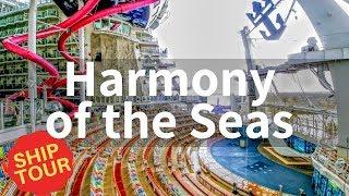 Harmony of the Seas Full Walkthrough Tour (2019)