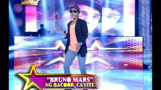 Anne meets 'Bruno Mars' on 'It's Showtime'