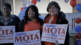 Cynthia Mota Para Concejal De La Cuidad De Allentown Commercial (Spanish)