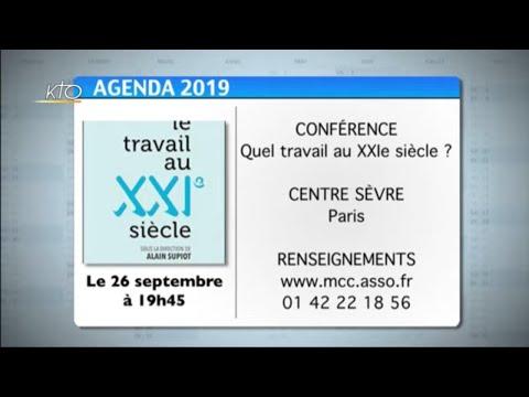 Agenda du 13 septembre 2019