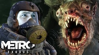 Mad Moscow Disease - Metro Exodus Gameplay