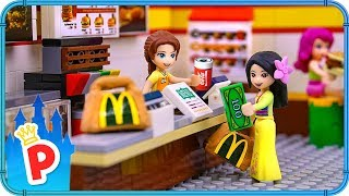 ♥ LEGO Mulan Goes To McDonalds To Buy Food For Charity