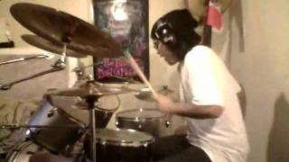 'The Young Crazed Peeling' - The Distillers DRUM COVER