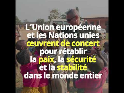 EU-UN new agreement for mutual support in peace operations and crisis management (French)