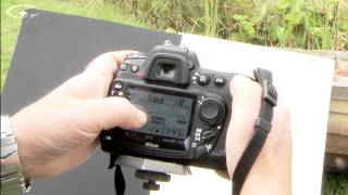 How to use a light meter Pt. 1