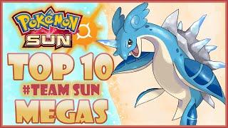 Top 10 #TEAMSUN MEGA EVOLUTION  ALOLA FORM WISHLIST! | Pokemon Sun And Moon | CWpoke Top 10