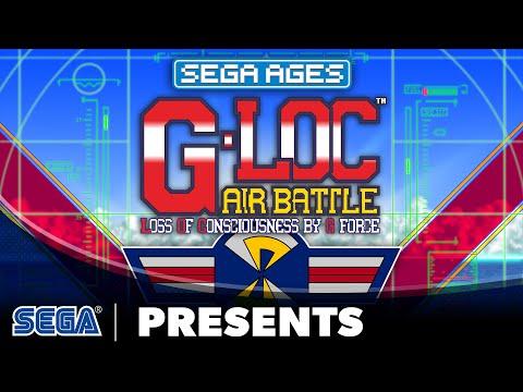 SEGA AGES G-LOC Air Battle | Launch Trailer