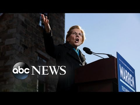 Elizabeth Warren Officially Declares Her 2020 Candidacy For President