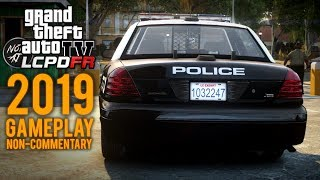 GTA 4 LCPDFR - Day 21 | Leftwood Patrol: Pursuits, Drug Busts, Shootouts 🚔 No Commentary