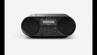 My Demonstration of Sony Personal Audio System (Sony Boombox) ZS-RS60BT