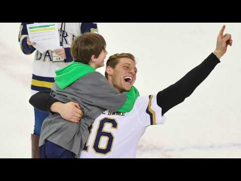 NDLXP: Sergio Drops 2 Goals at ND Hockey Game