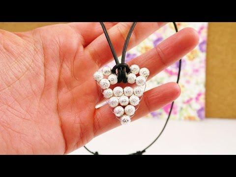DIY Kette im Azteken Look | Anhänger aus Perlen & Draht selber machen | Pfeil & Dreieck Motiv