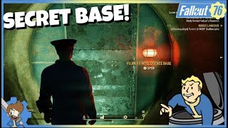 FALLOUT 76 - SECRET Chinese Base Under Mama Dolce's Food Processing