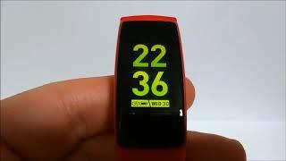 Semiro スマートウォッチ 血圧 心拍計 防水 スマートブレスレット