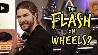 Is The Flash Faster on a Bicycle?   Because Science Footnotes