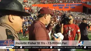 Rumors from Houston: Jimbo Fisher offered 10yr Contract