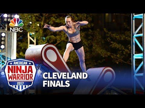 Allyssa Beird at the Cleveland City Finals - American Ninja Warrior 2017