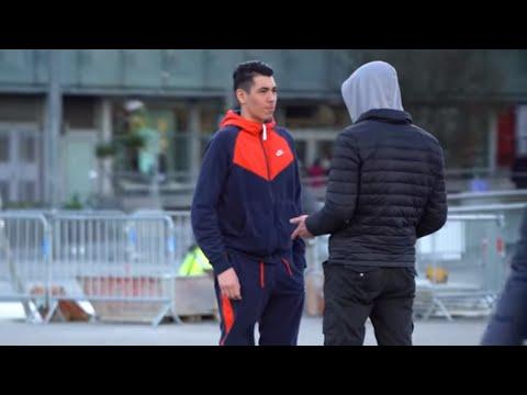 RACKETTER LES PASSANTS DANS LA RUE | PRANK (mais pas vraiment) IBRATV