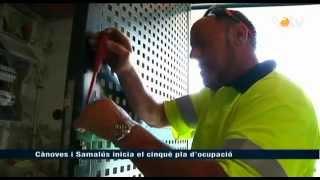 preview picture of video 'VOTV - Cànoves i Samalús inicia el cinquè pla d'ocupació'