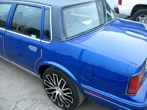 NEW YORK CITY DEDICATION ON 1987 Olds Cutlass Ciera / color change !! JOHNS RESTORATION