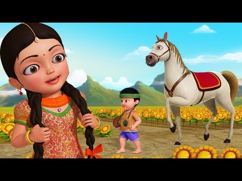Agdum Bagdum Ghoda Dum Saaje | Bengali Rhymes For Children | Infobells