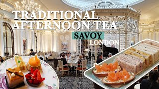 Stunning AFTERNOON TEA At Savoy - Best Afternoon Tea In London