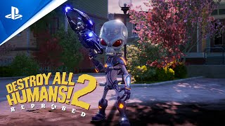 PlayStation Destroy All Humans 2 – Reprobed – Gameplay Trailer | PS5 anuncio