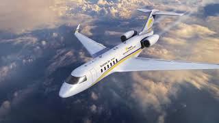 Create amazing private jet video intro logo animation