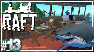 RAFT Survival | Double Tank Dive | Raft Gameplay Let
