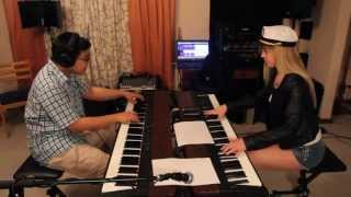 Lara and Jonathan play a Village People medley on piano! YMCA!