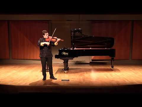 Vieuxtemps Capriccio for Solo Viola