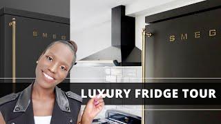 SMEG 2021 FRIDGE REVIEW AND TOUR // Luxury Fridge // Best Luxury Fridge
