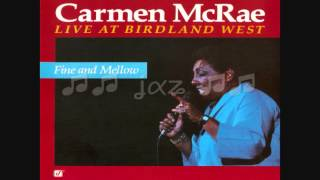 Carmen McRae / Fine and Mellow