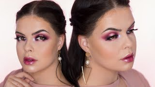 Burgundy Halo Eyes | Nabla Poison Garden Makeup Tutorial