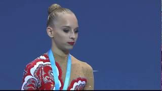 Награждение победителей Чемпионата Европы 2014 в Баку! Многоборье!