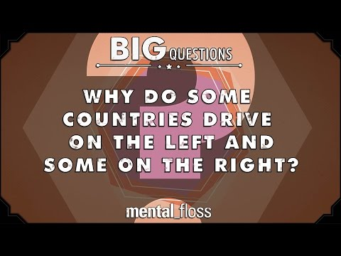 Why do some countries drive on the left and some on the right?  - Big Questions - (Ep. 220)