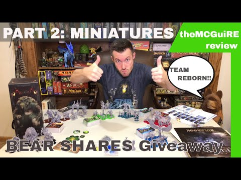theMCGuiRE review looks at THE EDGE DAWNFALL : PART 2 - MINIATURE REVIEW