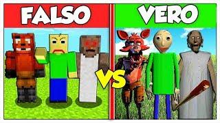 RIESCI A TROVARE IL VERO SUPERCATTIVO? - Minecraft ITA