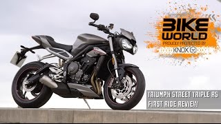 Bike World reviews the new Street Triple 765 RS
