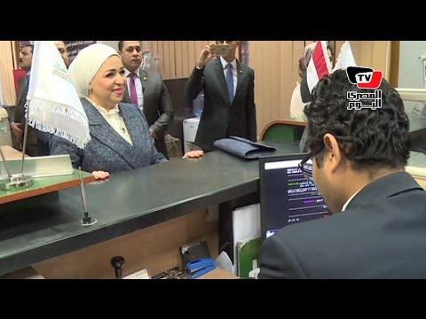 زوجة السيسي تقود حملة للتبرع لصالح «تحيا مصر» بحضور «والي ونصر»