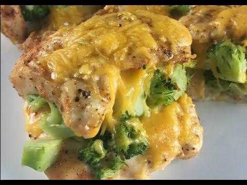 Broccoli & Cheddar Stuffed Chicken Recipe