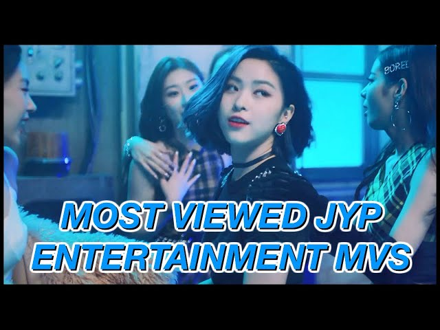 Top 100 Most Viewed Jyp Entertainment Mvs March 2020