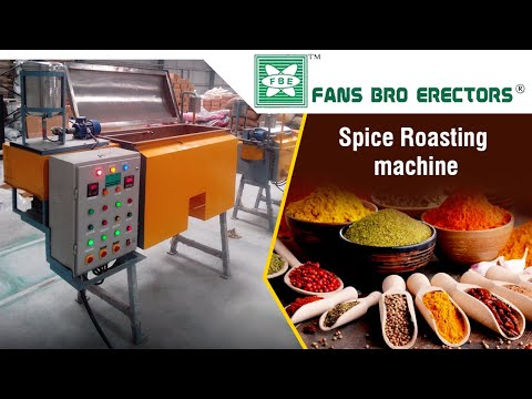 Fansbro Mixer Cum Roaster Machine