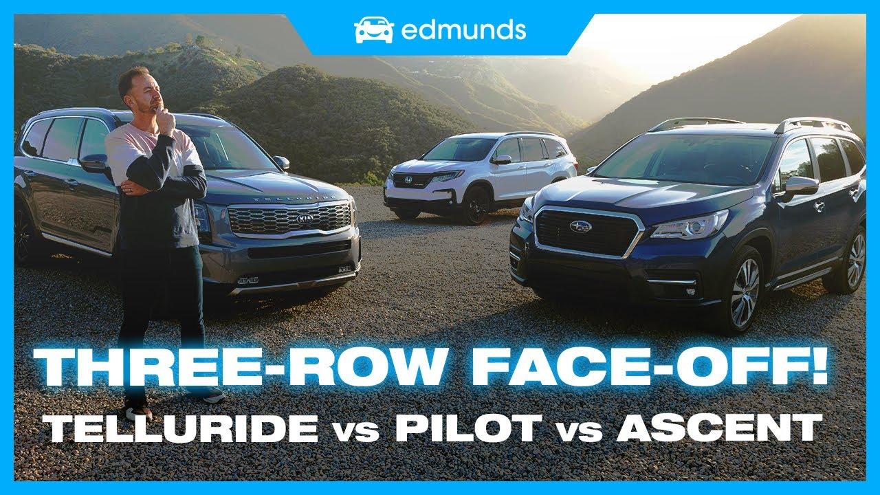 blHbtobOe2Y - Kia Telluride vs. Subaru Ascent vs. Subaru Ascent | Midsize Family SUV Comparison Test