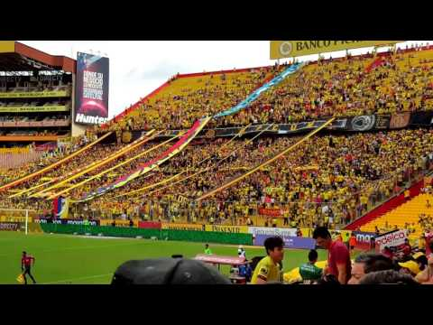 """RECIBIMIENTO!! Barcelona Vs Macará"" Barra: Sur Oscura • Club: Barcelona Sporting Club"