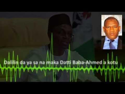 AUDIO: Tsakinin El-Rufai da Datti Baba-Ahmed