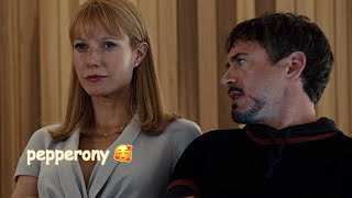 tony & pepper being a comedic duo