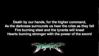 DragonForce - Cry Thunder | Lyrics on screen | HD