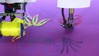 Richpeace 5-in-1 Functions Embroidery Machine