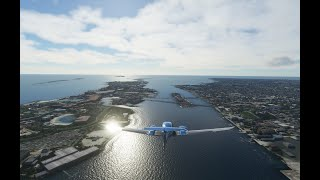 Microsoft Flight Simulator in the Tropics - Nassau, Bahamas